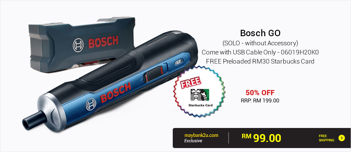 Bosch GO (SOLO - without Accessory) Come with USB Cable Only