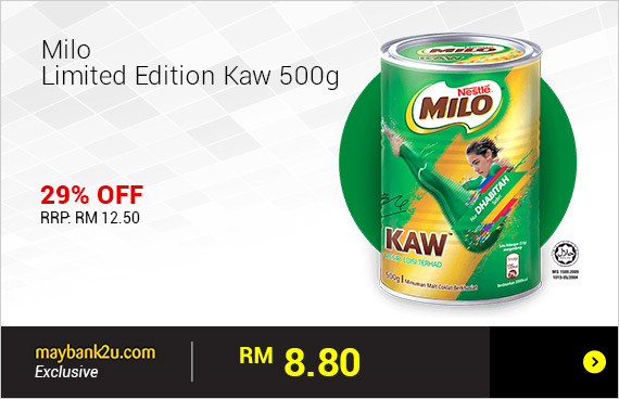 Milo Limited Edition Kaw 500g