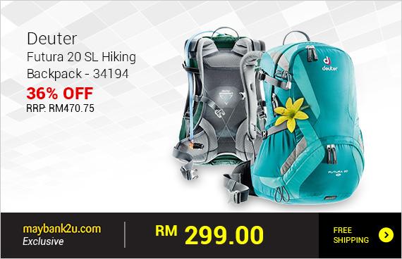 Deuter Futura 20 SL Hiking Backpack - 34194