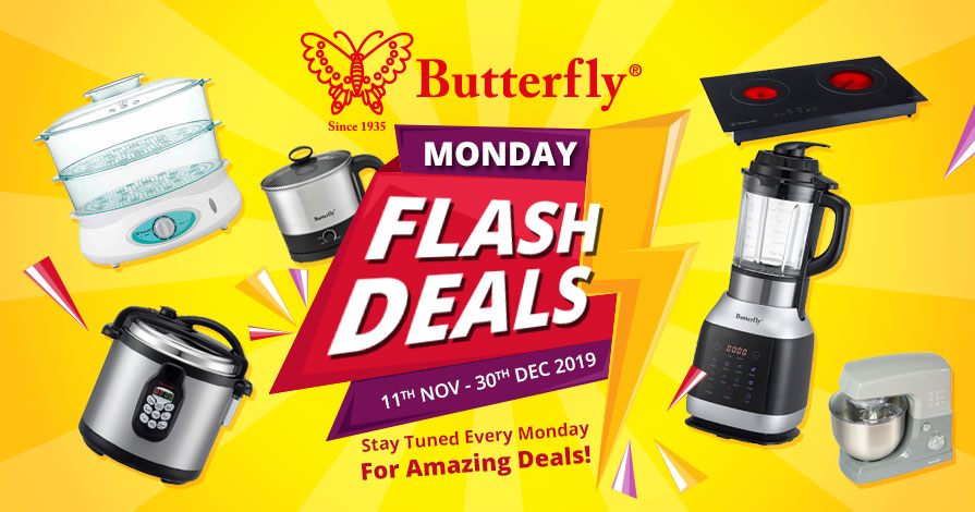 Butterfly Flash Deals