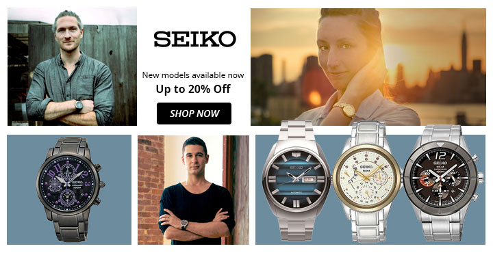 Seiko New models available now