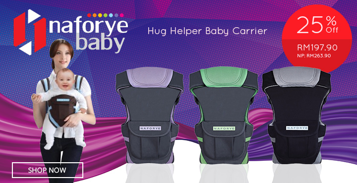 25% Off Naforye Hug Helper Baby Carrier