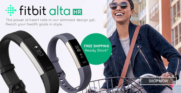 All New Fitbit Alta HR