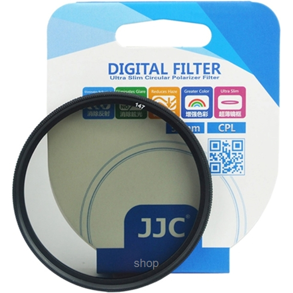 JJC F-CPL Ultra-Thin Circular Polarizer Filter (φ58mm) - F-CPL58-1