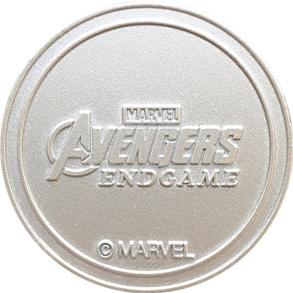 CAPTAIN MARVEL Exclusive Marvel's Avengers: Endgame Coin Medallion-1