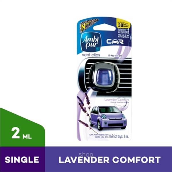 Ambi Pur Car Mini Lavendar Comfort 2ml-0