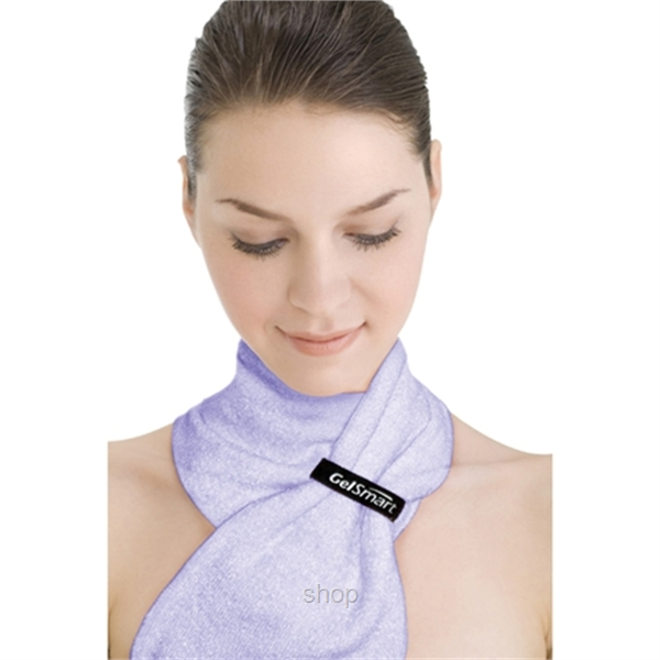 GelSmart Neck Beauty Sleeve Lavender (Anti-Aging) GSM-GN130LV-0