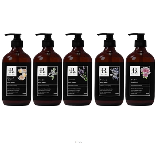 Bare For Bare Botanical Body Wash Series 500ml (5 Choices)-0
