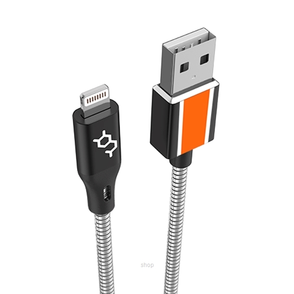 Dausen Stainless Steel MFi Lightning Charging Cable - DS-RI1070-2