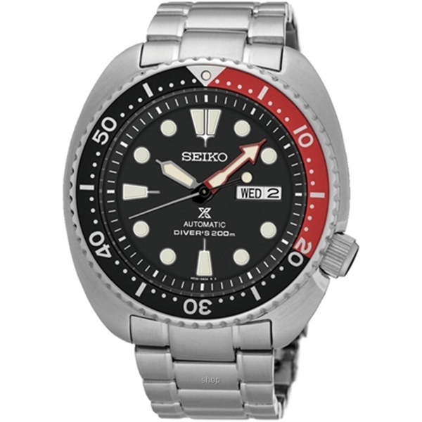 Seiko Prospex SRP789K1 Men's Automatic Turtle Diver's 200M Stainless Steel Bracelet Watch-0