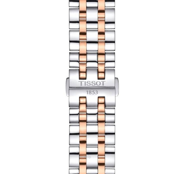 Tissot T129.407.22.031.00 Men's Automatic T-Classic Classic Dream Swissmatic Two-Tone Stainless Steel Bracelet Watch-3
