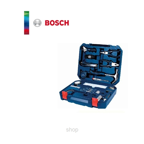 Bosch 108 in 1 Multi-Function Household Toolkit (BLUE) + FREE Toy Set - 2607017446-1