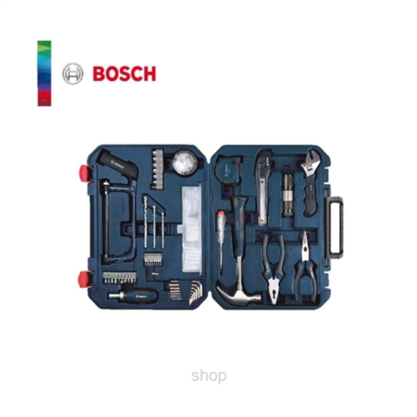 Bosch 108 in 1 Multi-Function Household Toolkit (BLUE) + FREE Toy Set - 2607017446-2