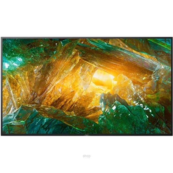 Sony 75 Inch 4K Ultra HD High Dynamic Range (HDR) Smart TV (Android TV) - KD-75X8000H-0