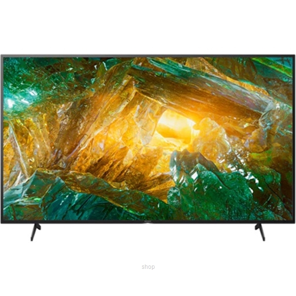Sony 65 Inch 4K Ultra HD High Dynamic Range (HDR) Smart TV (Android TV) - KD-65X8000H-0
