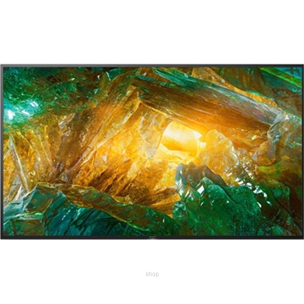 Sony 65 Inch 4K Ultra HD High Dynamic Range (HDR) Smart TV (Android TV) - KD-65X8000H-1