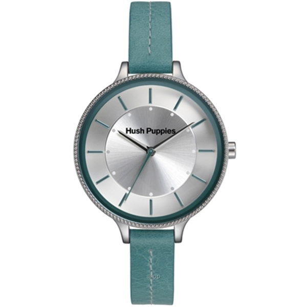 Hush Puppies Orbz Blue Leather Strap Women Watch - HP.3831L.2503-0