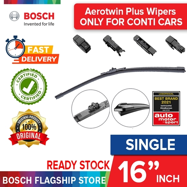 Bosch Aerotwin Plus 16 inch Wiper Blade (For Continental Car) - 3397006829-0