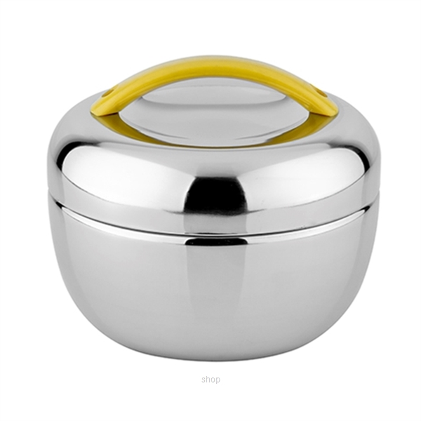 "Endo 800ml ""Apple"" Stainless Steel Food Jar - CX-5005-2"