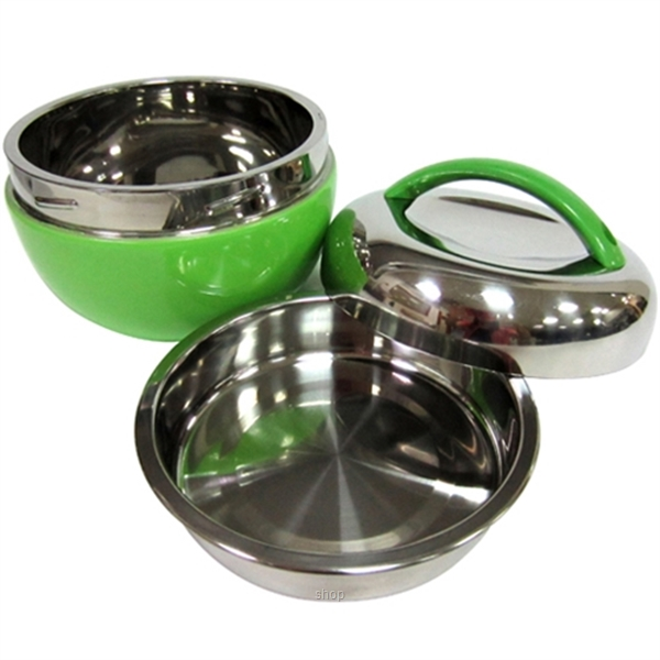 "Endo 800ml ""Apple"" Stainless Steel Food Jar - CX-5005-3"