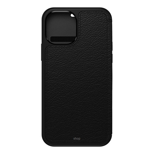 Otterbox Strada Series Case for iPhone 12 / iPhone 12 Pro (Shadow Black) - 77-65420-0