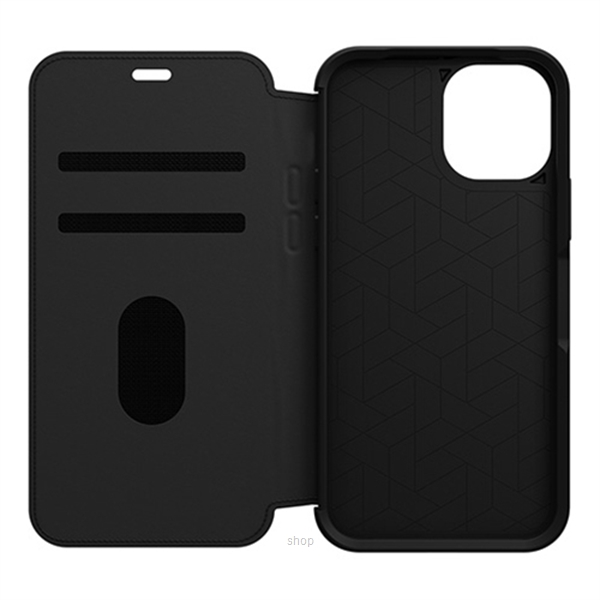 Otterbox Strada Series Case for iPhone 12 / iPhone 12 Pro (Shadow Black) - 77-65420-1