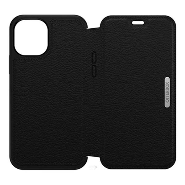 Otterbox Strada Series Case for iPhone 12 / iPhone 12 Pro (Shadow Black) - 77-65420-3