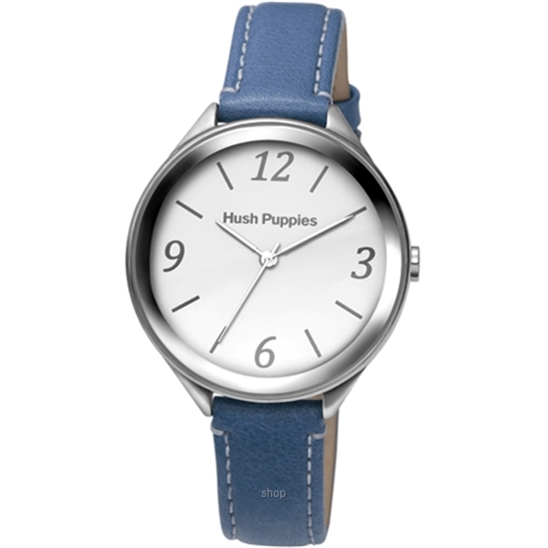 Hush Puppies Orbz Blue Leather Strap Women Watch - HP.3843L.2503-0