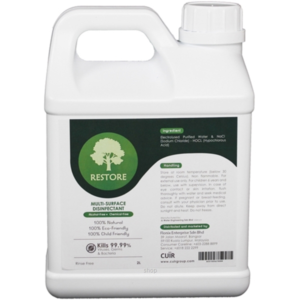 Restore Multi-surface Disinfectant 2L-0