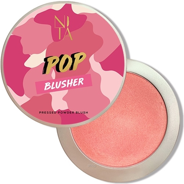Nita 13g Pop Blusher In Sweet Pink with Golden Shimmer - 1102009060442-0