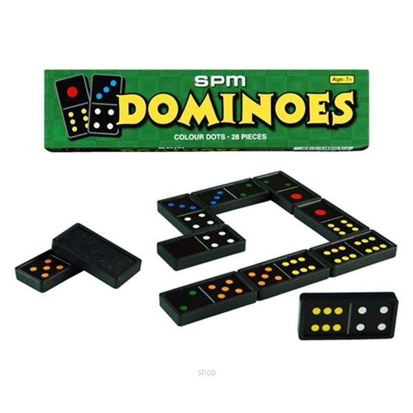 SPM Dominoes Colour Dots - SPM160-0
