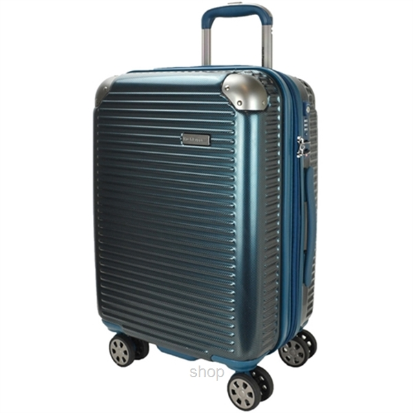 Hush Puppies 694013 ABS Hard Trolley Case Luggage - Blue-0