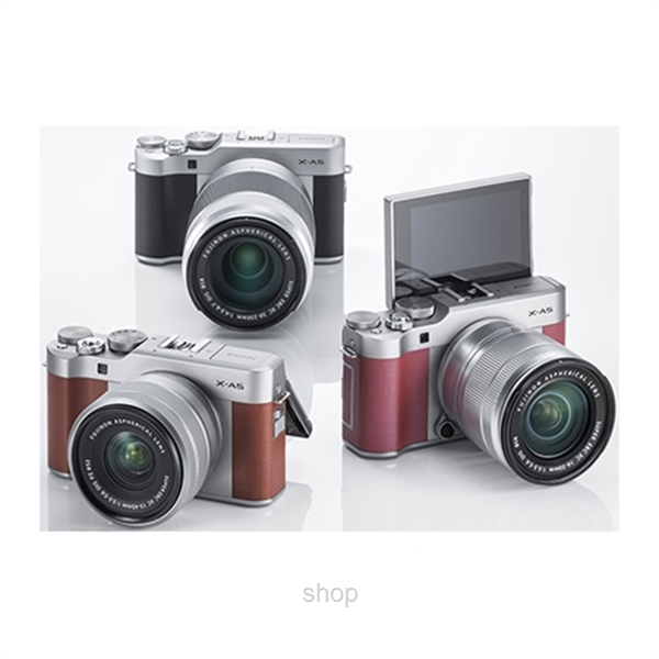 Fujifilm X-A5 Mirrorless Digital Camera with 15-45mm Lens + 32GB-0