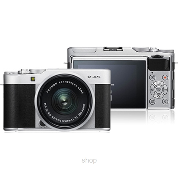 Fujifilm X-A5 Mirrorless Digital Camera with 15-45mm Lens + 32GB-2