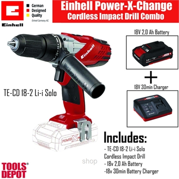 einhell te cd 18 2 li i solo cordless impact drill ch superbuy malaysia online shopping mall. Black Bedroom Furniture Sets. Home Design Ideas