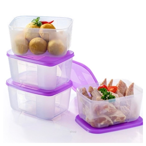 Tupperware FreezerMate Small II (4pcs) 650ml - 11152407-0