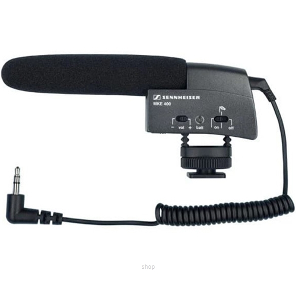Sennheiser MKE400 Compact Video Camera Shotgun Microphone-0