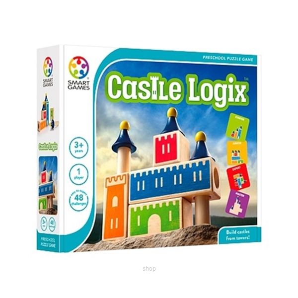 Smart Games Castle Logix (New Packing) - 5414301518709-0