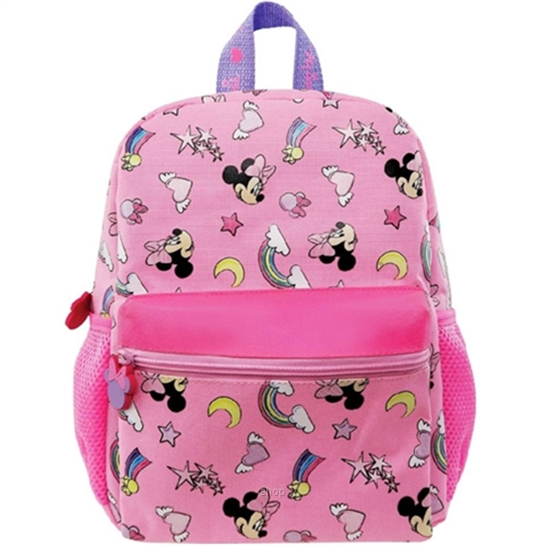 PSD Disney Minnie Mouse Pink Kids Backpack (12-inch) - 31-2-222-6051-0