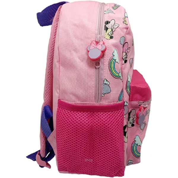 PSD Disney Minnie Mouse Pink Kids Backpack (12-inch) - 31-2-222-6051-1