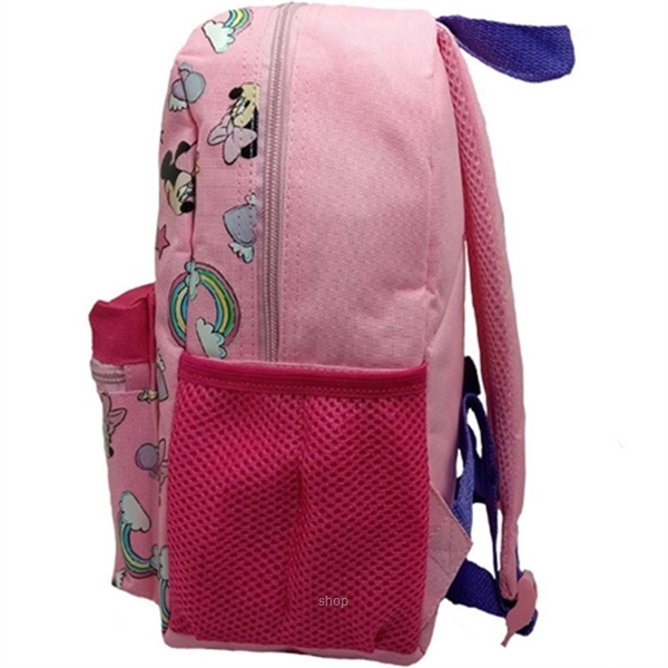 PSD Disney Minnie Mouse Pink Kids Backpack (12-inch) - 31-2-222-6051-2