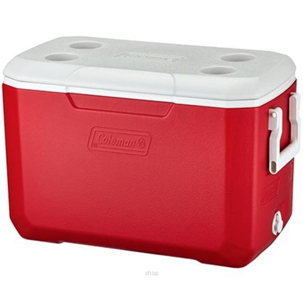 Coleman 48QT Cooler Box Red Asia-0