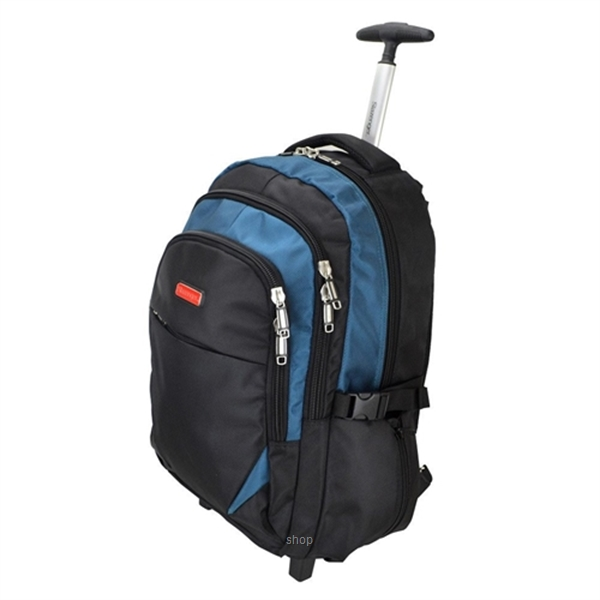 Slazenger SZ1095-L Backpack Bag with Trolley Large-2