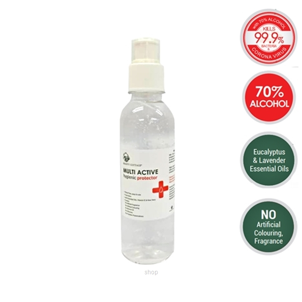 Beauty Cottage Multi Active Hygienic Protector 70% Alcohol Hand Sanitizer Gel 250ml-0