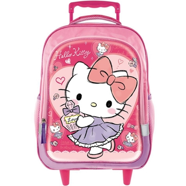PSD Hello Kitty Dance Primary School Trolley Bag - 70-2-231-5700-0