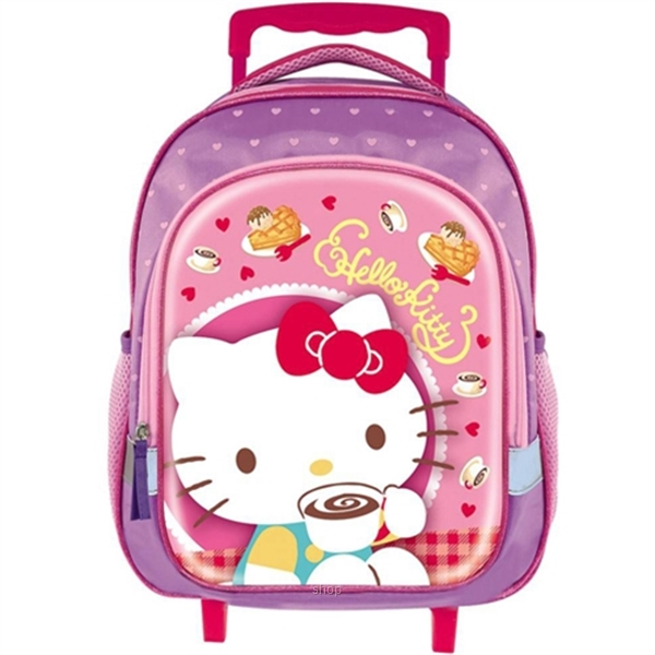 PSD Hello Kitty Tea Time Pre-school Trolley Bag - 70-2-229-5698-0