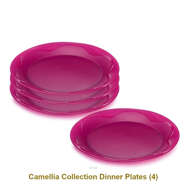 [CNY] Tupperware 12pcs Camellia Collection Dining Serveware Set - A2881-1