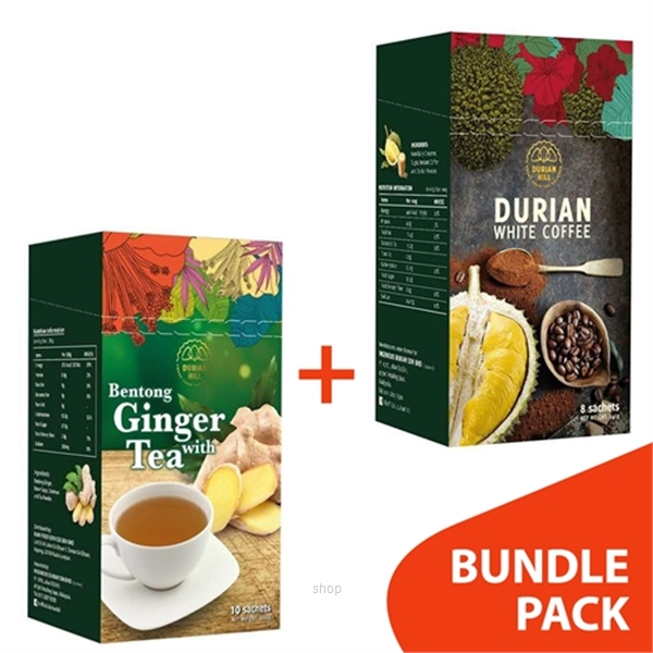 [BUNDLE] Durian Hill White Coffee + Original Ginger-0