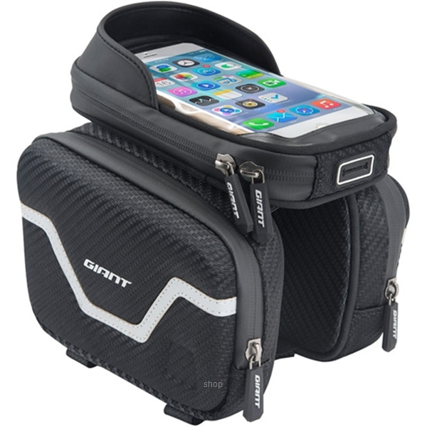 Giant 3 Compartments Design Top Tube Bag - 465200065-0