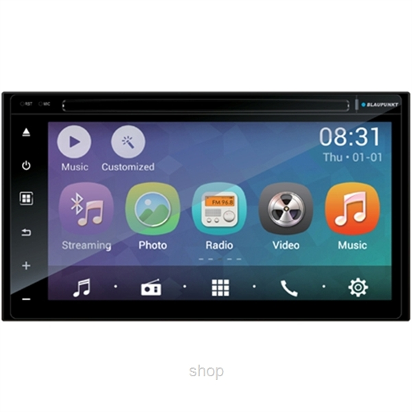 Blaupunkt 2-DIN Android & Phone Link Multimedia Navigation Kimberly 941-0